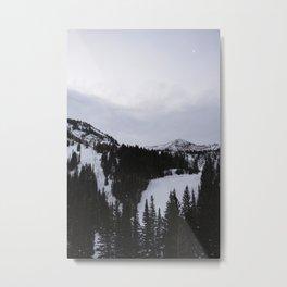 Snowbird Sunrise Metal Print