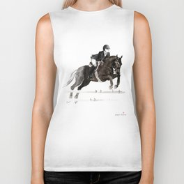 Horse (Jumper II) Biker Tank