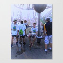 Roller Coaster Ritual Canvas Print