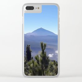 Teide Clear iPhone Case