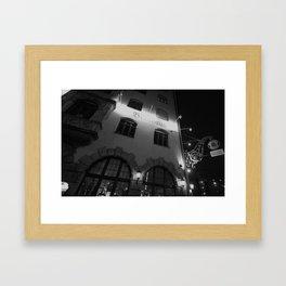 At A Glance Framed Art Print