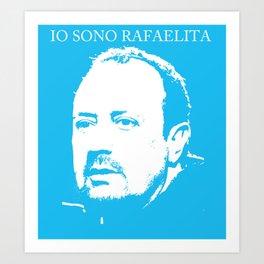 Rafa Benitez Art Print