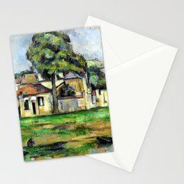 Paul Cézanne Banks of the Marne Stationery Cards