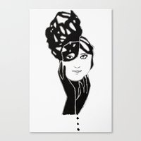 lucy Canvas Prints featuring Lucy by Issa Abou-Issa