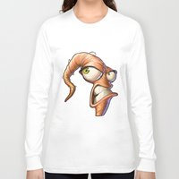 video games Long Sleeve T-shirts featuring Triangles Video Games Heroes - EarthWorm Jim by s2lart