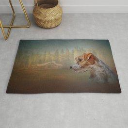 Jack Russell Terrier dog Rug