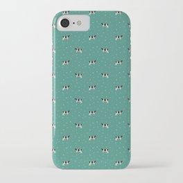 Holstein // Sprinkles on Green iPhone Case