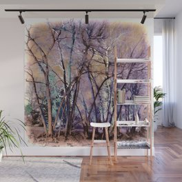 Trees are Poems That the Earth Writes Upon the Sky Wall Mural