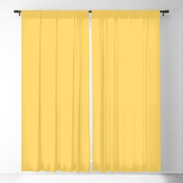 Aspen Gold 13-0850 TCX | Pantone | Color Trends | New York | Spring Summer 2019 | Solid Colors | Blackout Curtain