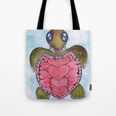I Heart Sea Turtles Tote Bag