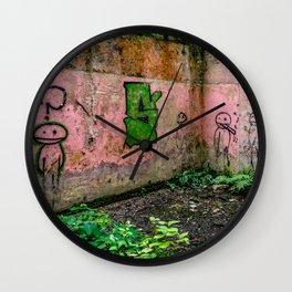 Urban Exploration Wall Clock