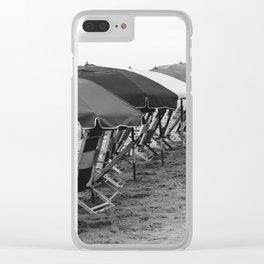 Antique Beach Clear iPhone Case