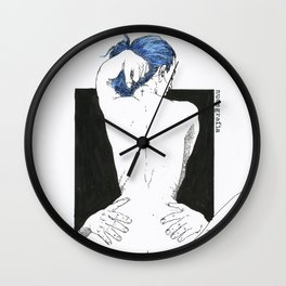 NUDEGRAFIA - 011 Wall Clock