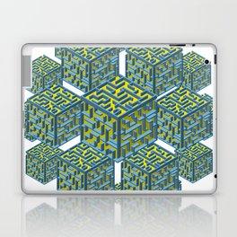 Cubed Mazes Laptop & iPad Skin