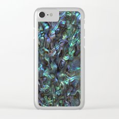 Abalone Shell | Paua Shell | Natural Clear iPhone Case