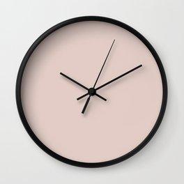 Peach Blush Wall Clock