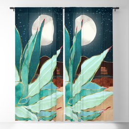 Desert Agave Blackout Curtain