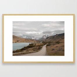 CHILEAN ROADS Framed Art Print