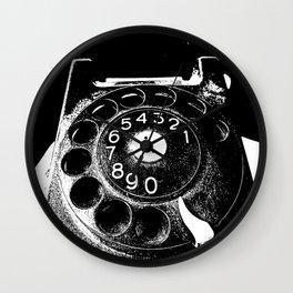 Vintage communication Wall Clock