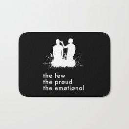 the few, the proud, the emotional // Twenty One Pilots Bath Mat