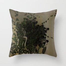 """""""Rumble in the Jungle"""" Throw Pillow"""