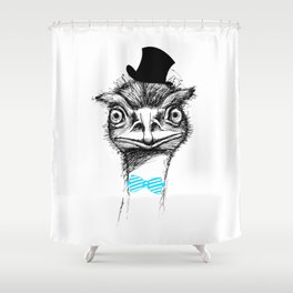 funny animals Shower Curtain