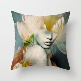 blooming 2a Throw Pillow