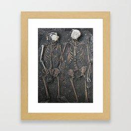 Dying In Love  Framed Art Print