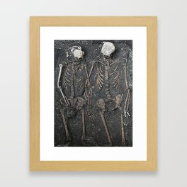 Dying In Love  Framed Art Print