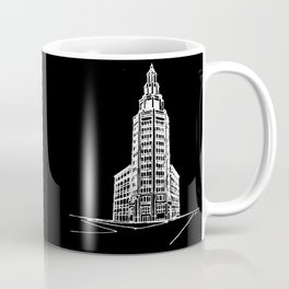 the Electric Tower at Night Coffee Mug