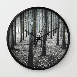 Coma forest Wall Clock