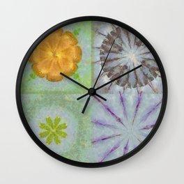 Triakisoctahedrid Unclad Flowers  ID:16165-023954-27470 Wall Clock