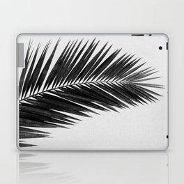 Palm Leaf Black & White I Laptop & iPad Skin