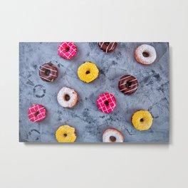 Glazed Donuts Metal Print