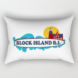 Block Island - Rhode Island. Rectangular Pillow