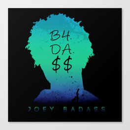 JOEY BADASS---ART Canvas Print