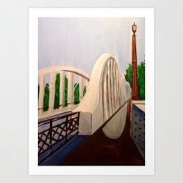 Fairfield Bridge, NZ Art Print