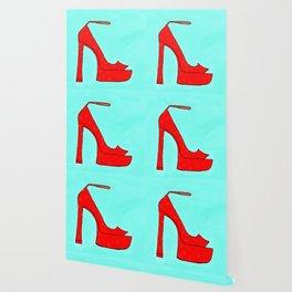 Red Shoe Wallpaper