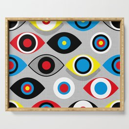 Eye on the Target Serving Tray