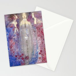 Margaret Macdonald Mackintosh The Three Perfumes Stationery Cards