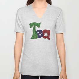 Tea for You and Tea for Me Unisex V-Neck