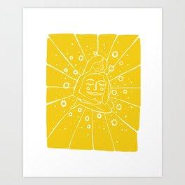 Sun Hug Art Print
