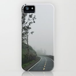 Nothing to hear but the steady steps of the occasional jogger. iPhone Case