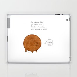 the spherical bear Laptop & iPad Skin