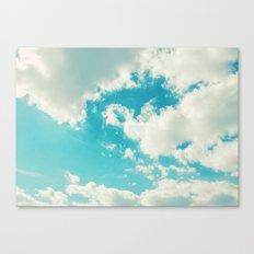 Teal Sky Canvas Print
