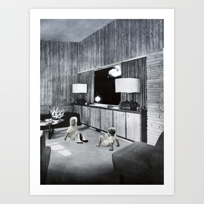 Space Room III Art Print