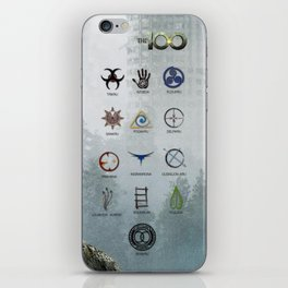 The 100 - 13 Clans iPhone Skin