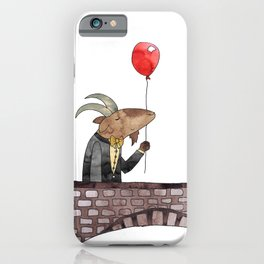 Billy was having such a splendid day iPhone Case