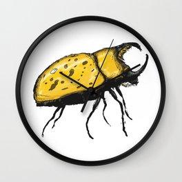 Hercules Beetle Wall Clock