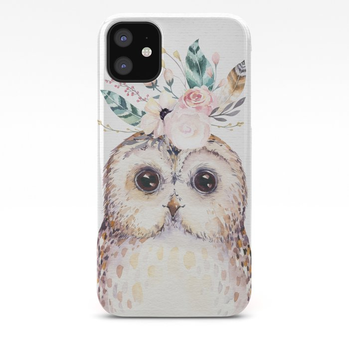 Forest Owl by Nature Magick iPhone Case